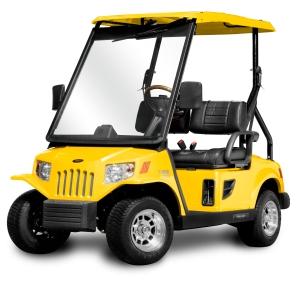 Elektrofahrzeug Tomberlin_E2 XRLE gelb